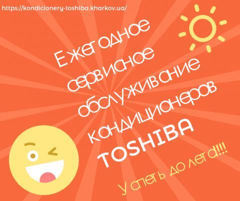 Обслуживание Toshiba